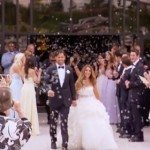 Eric decker Jessie Decker wedding photo