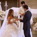 Eric decker Jessie Decker wedding picture