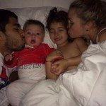 Luis Suarez Sofia Balbi children pic