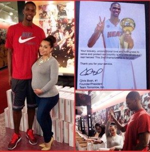 Adrienne Williams Bosh Chris Bosh wife pic