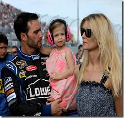 Chandra Janway Johnson Jimmie Johnson wife pic