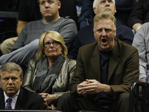 Dinah Mattingly is NBA Legend Larry Bird's wife