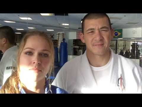MMA Ronda Rousey's  boyfriend and trainer is Henry Akins?