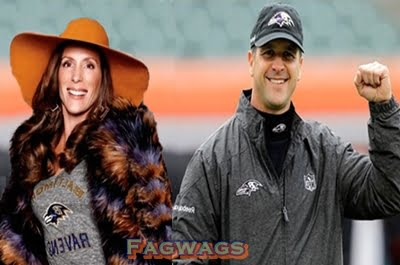 Ingrid Harbaugh Baltimore Ravens Coach John Harbaugh's Wife