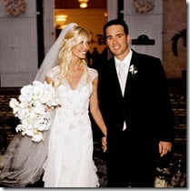 Jimmie Johnson Chandra Janway wedding pic