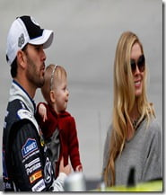 Jimmie Johnson daughter Genevieve Marire