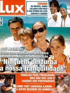 Jose Mourinho Matilde Faria