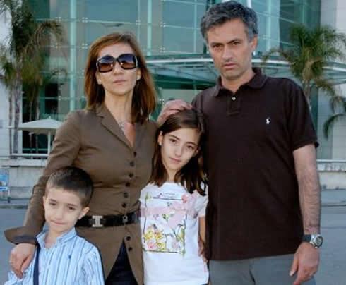 Matilde Faria is Jose Mourinho pictures