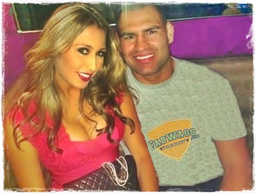 Michelle Borquez Velasquez is MMA Heavywight Champion Cain Velasque's Wife.