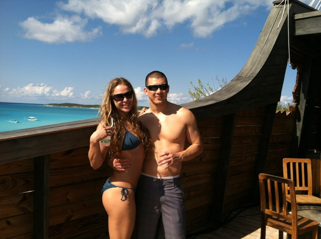 Ronda+Rousey+Dating Ronda Rousey & Brendan Schaub | 2013 MAXIM HOT 100 ...