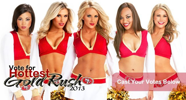 "PHOTOS: The SF 49ers Cheerleaders ""The San Francisco Gold Rush"""