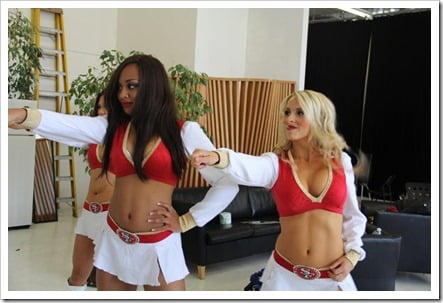 SF 49ers cheerleaders pic 9