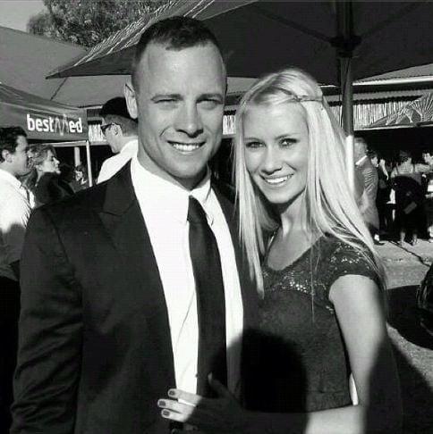 Samantha Taylor oscar Pistorius image
