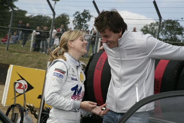 Susie Wolff's Husband is Torger (Toto) Wolff (PHOTO)