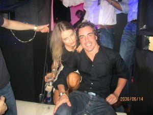Xenia Tchoumitcheva fernando alonso girlfriend-pic