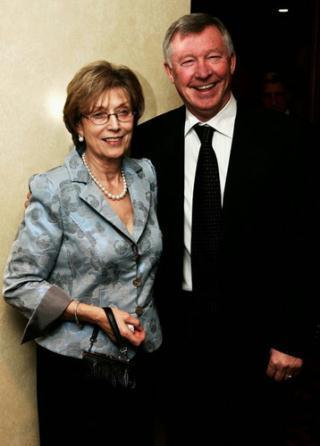 Cathy Ferguson- Alex Ferguson's wife