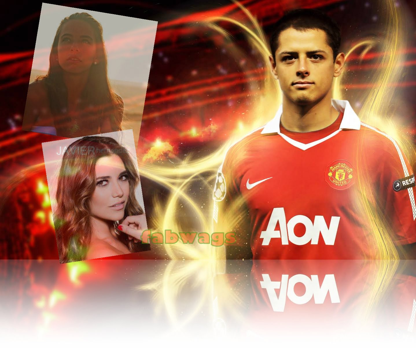 chicharito girlfriend