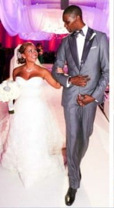 chris bosh adrienne williams wedding