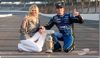 Chandra Janway Johnson is NASCAR Jimmie Johnson's Wife