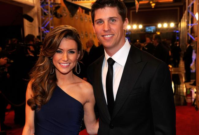 Denny Hamlin's Girlfriend Jordan Fish