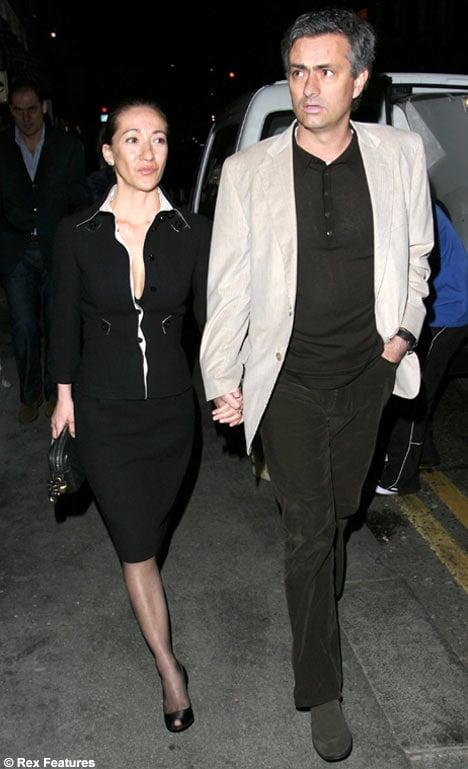 Jose Mourinho Wife