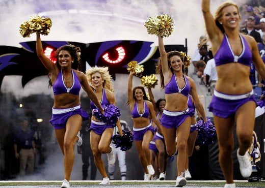 PHOTOS: The Baltimore Ravens Cheerleaders