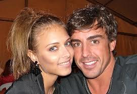 Fernando Alonso's Girlfriend is Xenia Tchoumitcheva