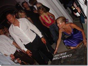 Carina Sinai Wanzung and ex husband Tibor Sinai