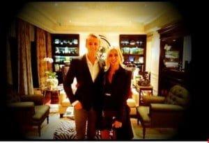 Chloe Roberts Max Chilton girlfriend photos