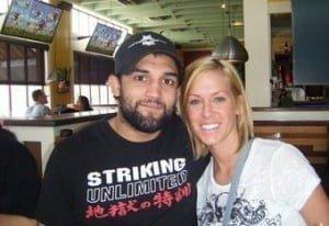 Christina Hendricks - MMA Johny Hendricks' Wife