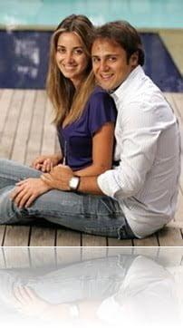 Felipe Massa wife Raffaela Bassi Massa