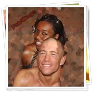 Georges-St-Pierre-girlfriend Lucy Onyeforo picture