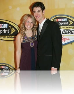 Joey Logano girlfriend Sabrina Simpson pic
