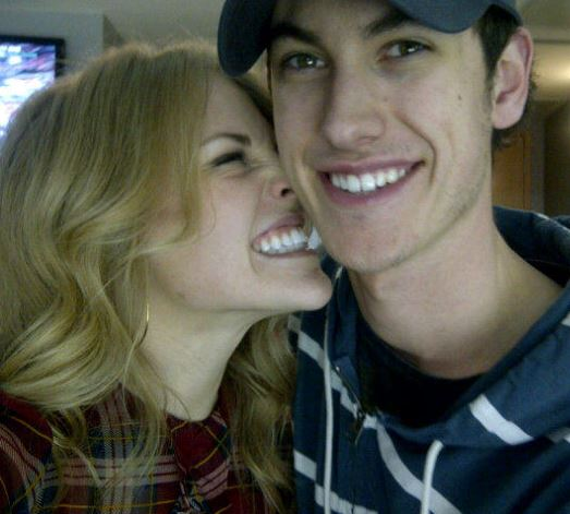 Joey Logano girlfriend Sabrina Simpson pics