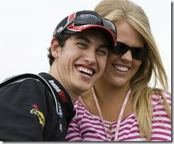 Joey Logano girlfriend Sabrina Simpson