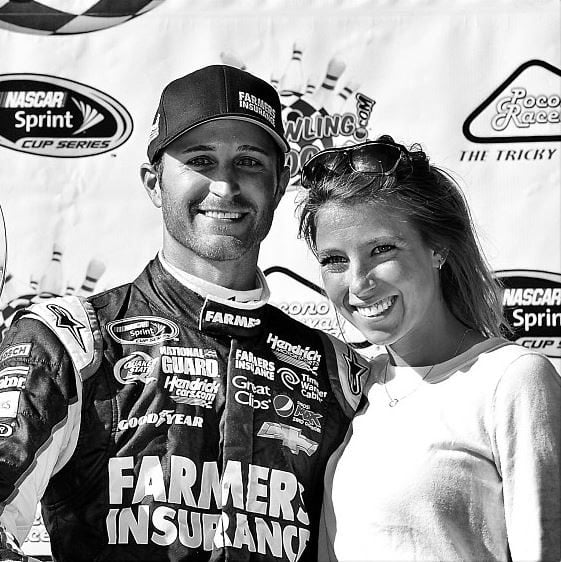 Kasey Kahne girlfriend Casey-Vantassell