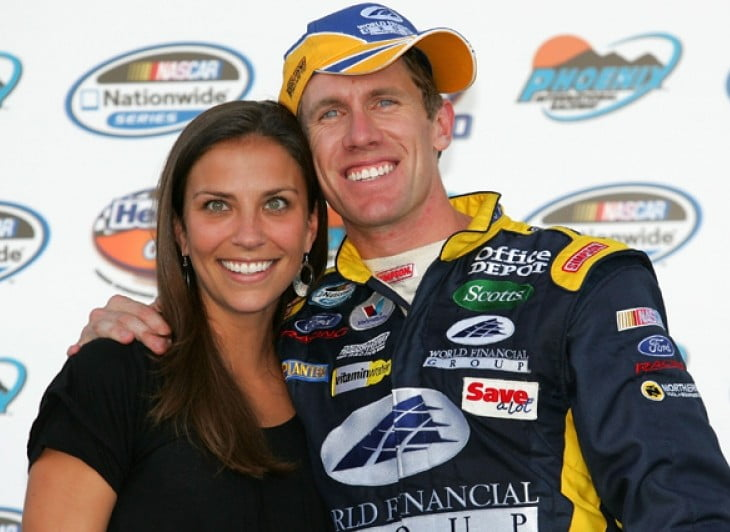 Katherine Downey- Edwards is NASCAR Carl Edwards' Wife