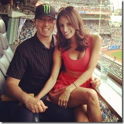 Kyle Busch wife Samantha Sarcinella Busch photo