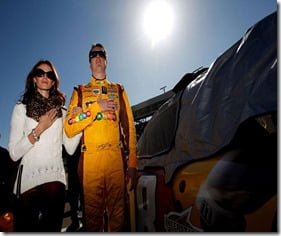 Kyle Busch wife Samantha Sarcinella Busch picture