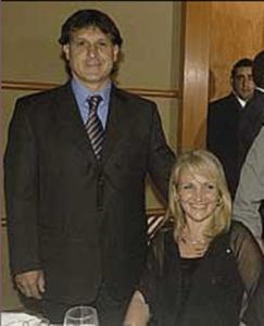 Maria Angelica de Martino FC Barcelona Coach Gerardo Tata Martino Wife