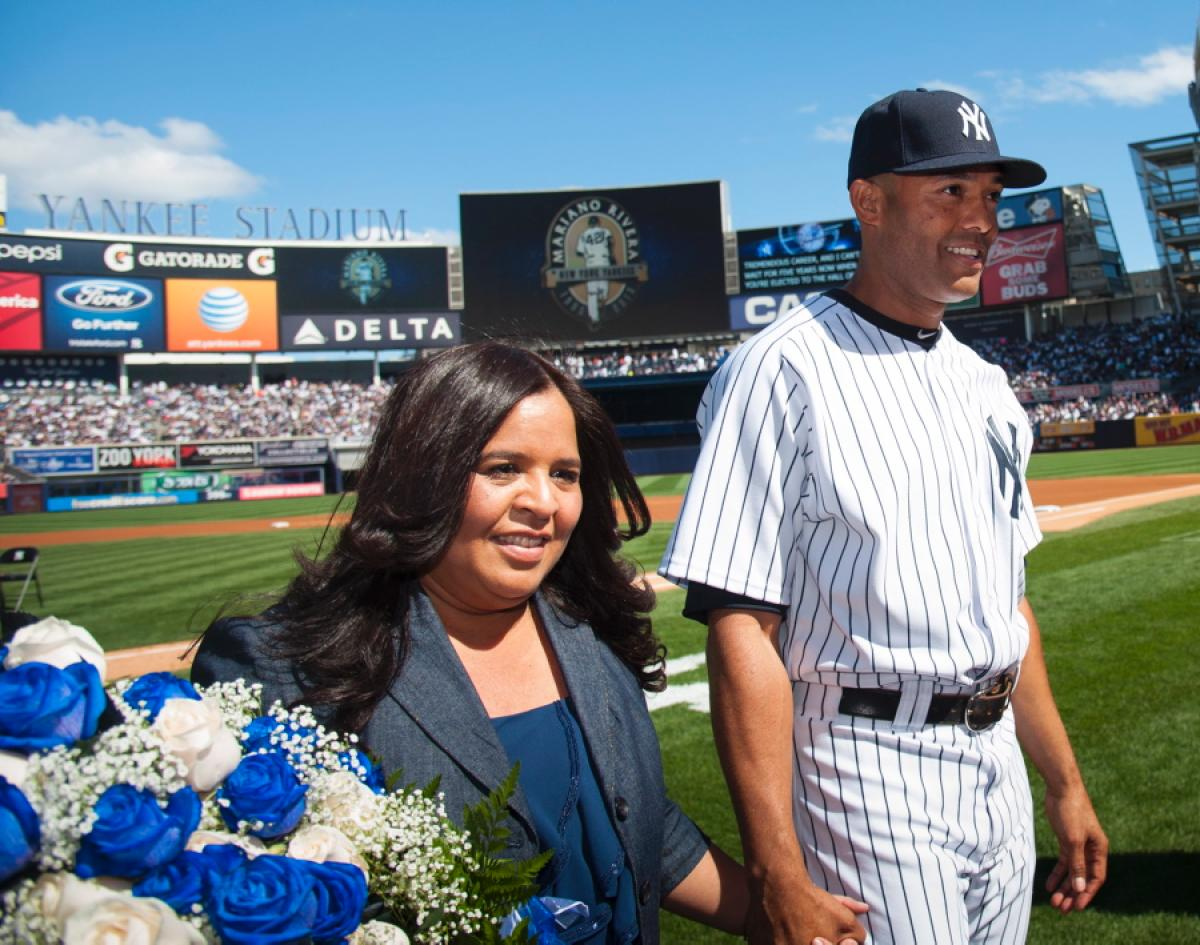 Mariano Rivera's Wife Clara Rivera