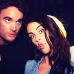 Thom Evans girlfriend 2013 Jessica Lowndes picture