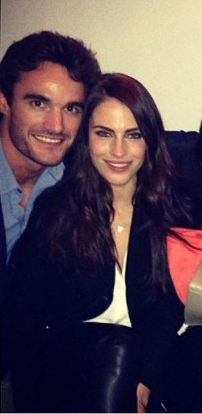 Thom Evans girlfriend 2013 Jessica Lowndes