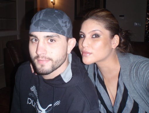 Seager Marie McCullah is UFC Carlos Condit's Wife