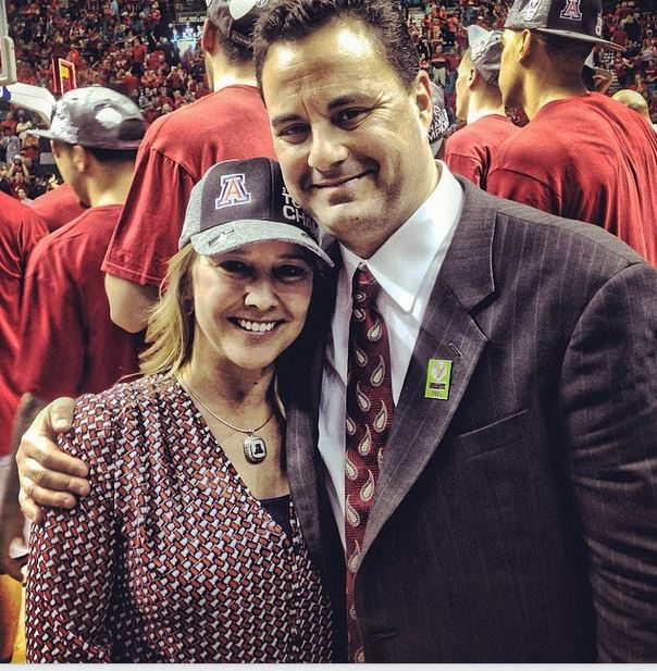 Amy Miller Arizona Wildcats Sean Miller's Wife
