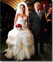 felipe massa raffaela bassi wedding photo