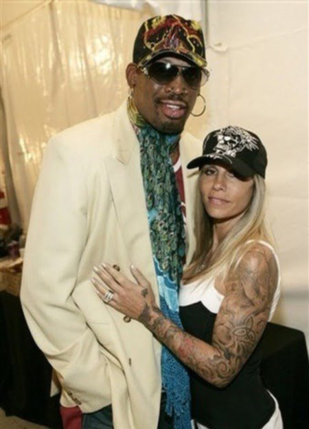 Michelle Moyer- Rodman is NBA Dennis Rodman's Ex-wife (PHOTOS)