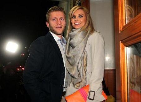Jakub Blaszczykowski with hot, beautiful, sexy, Wife Agata Gołaszewska