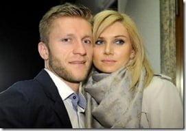 """Agata Gołaszewska- Jakub """"Kuba"""" Błaszczykowski's wife"""