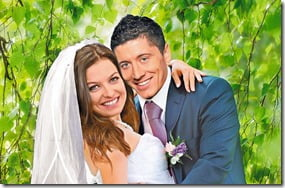 Anna Stachurska Borussia Dortmund Robert Lewandowski wedding